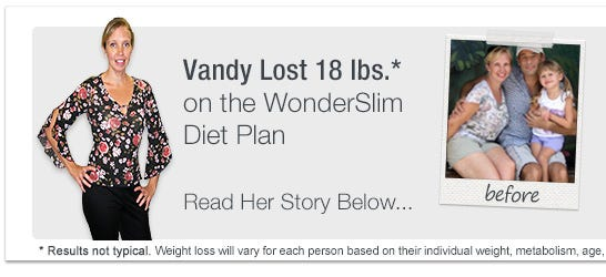 WonderSlim Weight Loss Success Story - Vandy